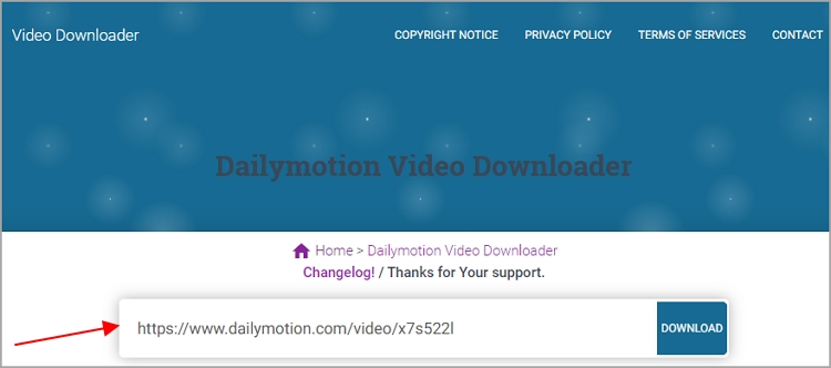 Dailymotion Video Downloader - pastedownload