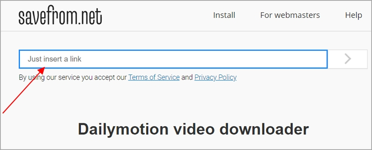 Dailymotion Video Downloader - Savefrom