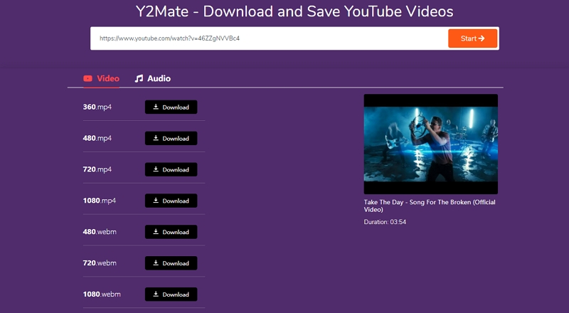 How to Download Part of A YouTube Video with Y2mate