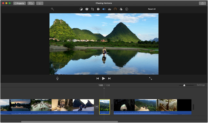 How to Edit Videos on Your Mac with iMovie - Step 4
