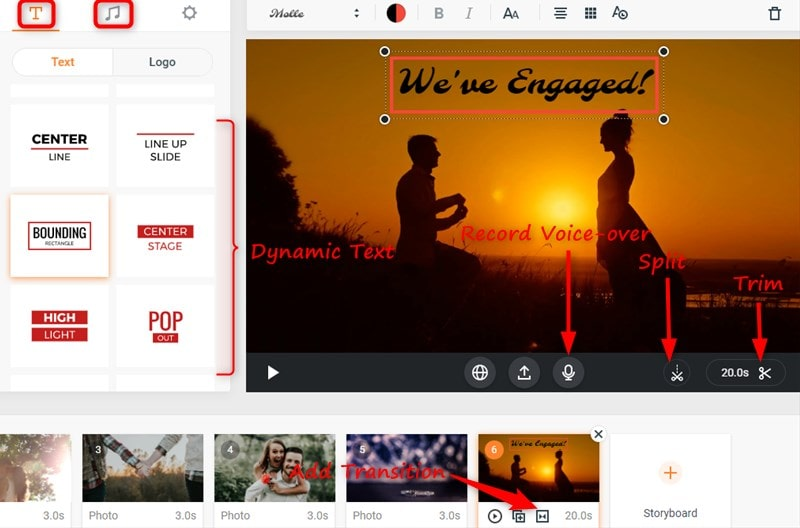 Customize Your Engagement Video
