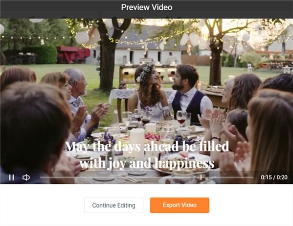 Preview and Save Your Event Video