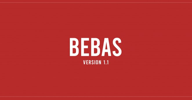 Best Fonts for Video: Bebas