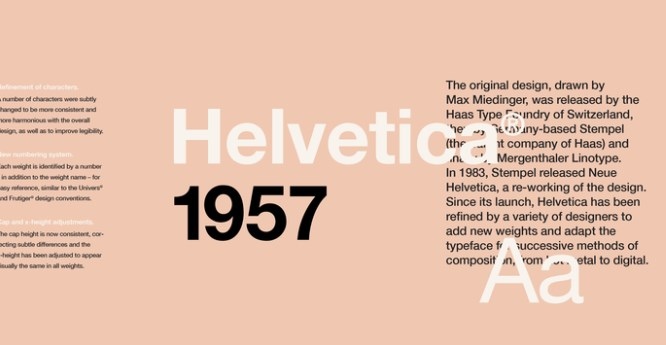 Best Fonts for Video: Helvetica