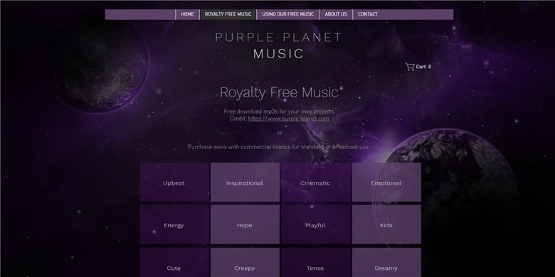 Free Royalty Free Music for Videos - Purple Planet