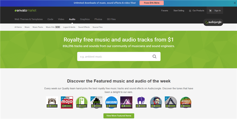 Free Royalty Free Music for Videos - AudioJungle