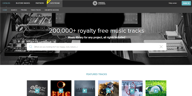 Free Royalty Free Music for Videos - Jamendo