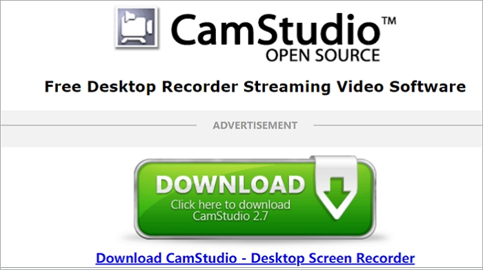 Best Free Screen Recorder - CamStudio