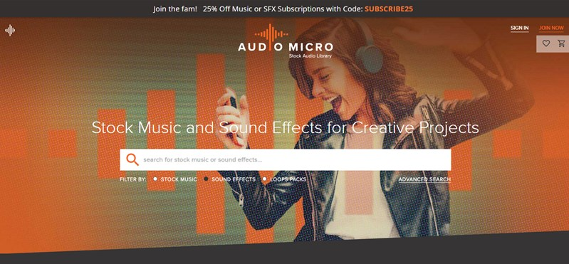 Free Sound Effects Site: AudioMicro