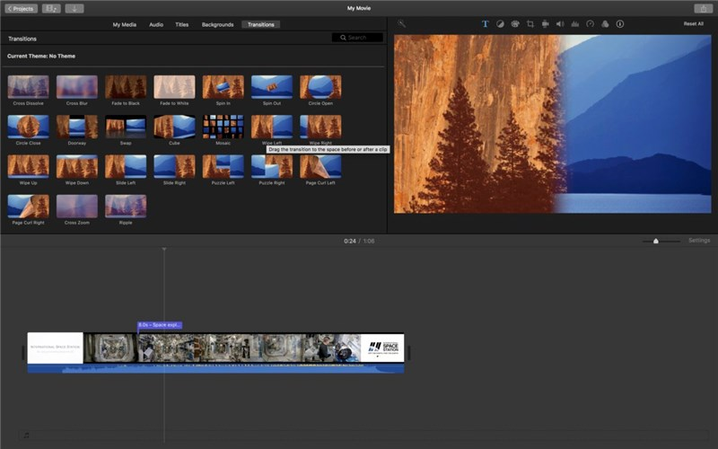 GoPro Video Editor - iMovie