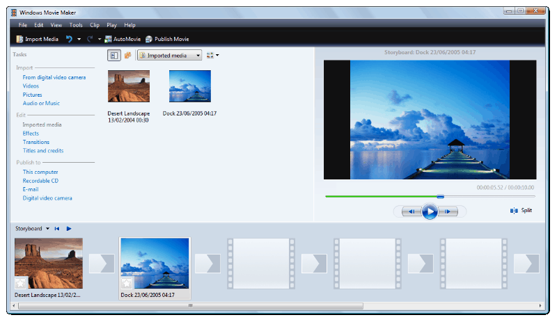 GoPro Video Editor - Windows Movie Maker