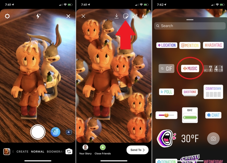 How to Add Music to Instagram Story with Music Sticker