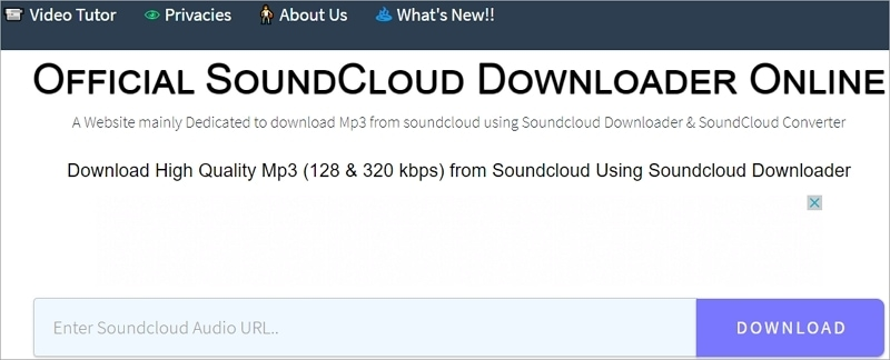 Top SoundCloud Downloader - KlickAud