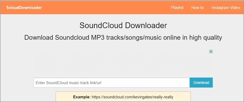 Best SoundCloud Downloader - ScloudDownloader