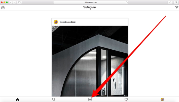 Ready to upload photos to Instagram with Safari