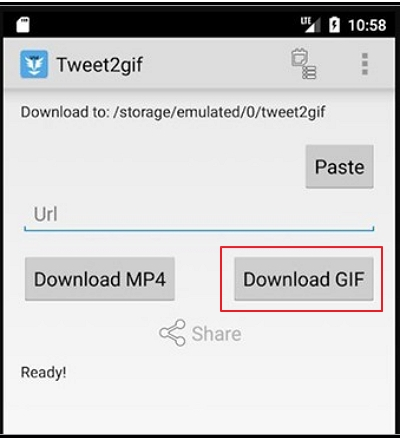 How to Save A GIF from Twitter to Android