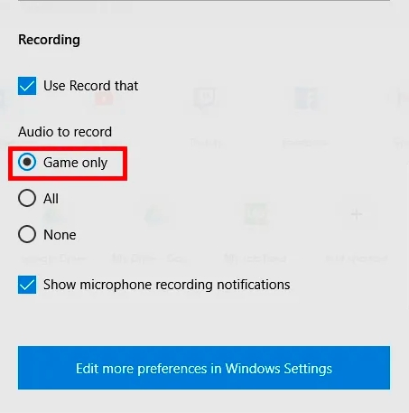 How to Screen Record with Sound on PC - Step 3