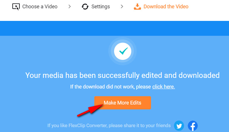 Convert Video to MP4: Step 3