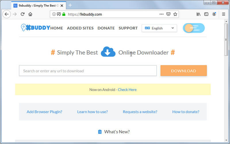 KeepVid alternative - 9XBUDDY free video downloader