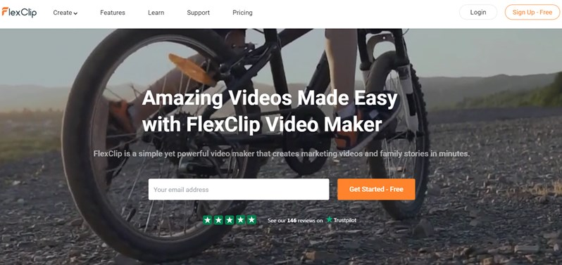 Amazing Videos Made Easy with FlexClip