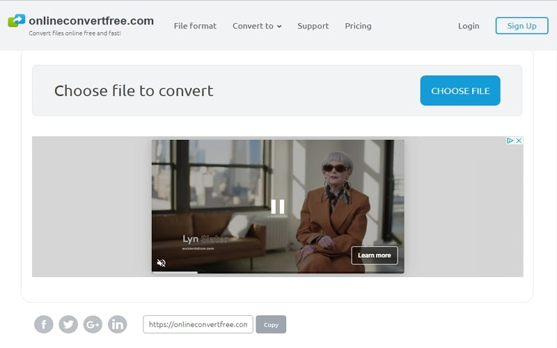 M4A to MP4 Converter Onlineconvertfree