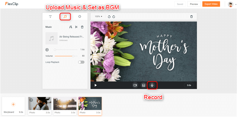 Make Mother's Day Video - Step 4