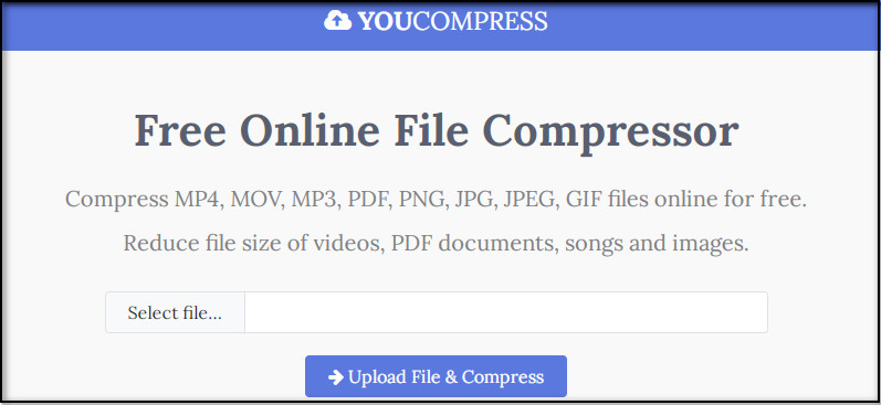 MOV Compressor - YouCompress