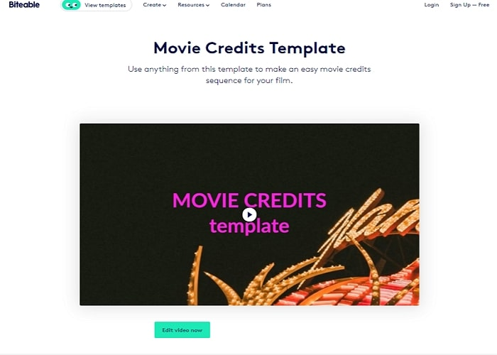 Top Movie Credits Maker - Biteable