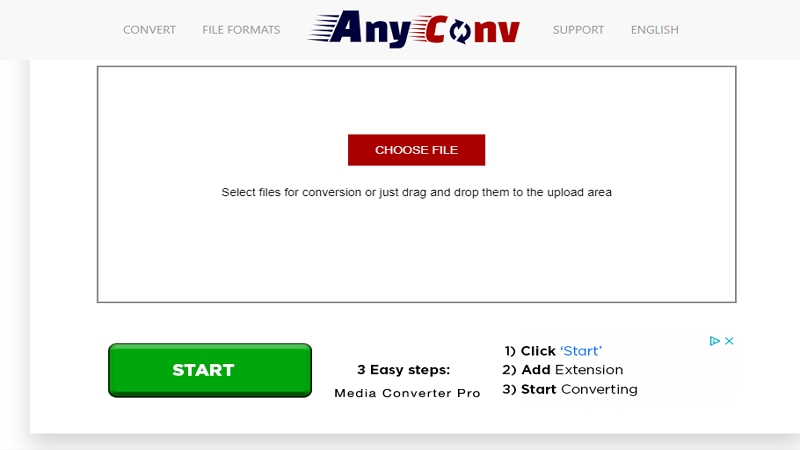 MP3 to MP4 Converter - AnyConv