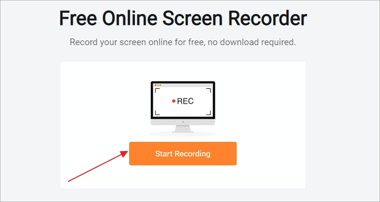 How to Record Netflix Online for Free - Step 1