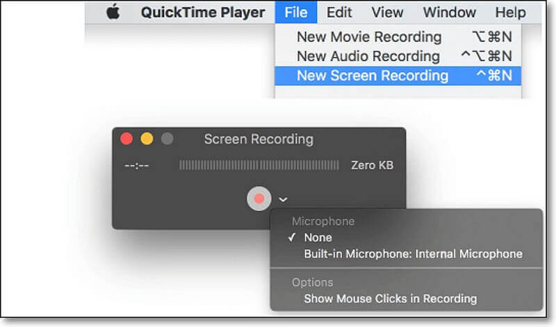 quick time screen recorder