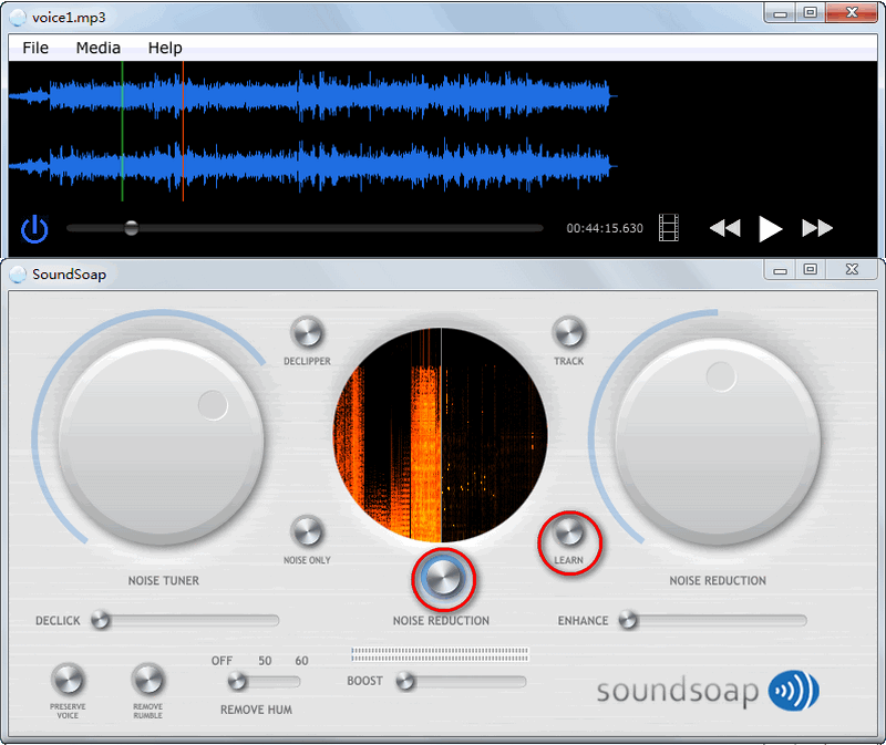 How to remove video noise with Soundsoup 5?