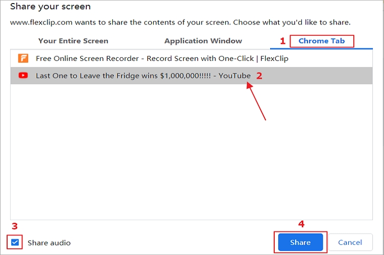 5 Best Screen Recorder for YouTube - FlexClip Recorder