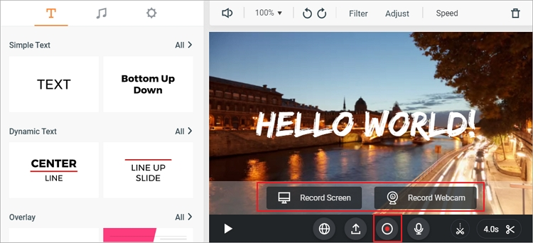 5 Best Screen Recorder for YouTube - FlexClip Editor