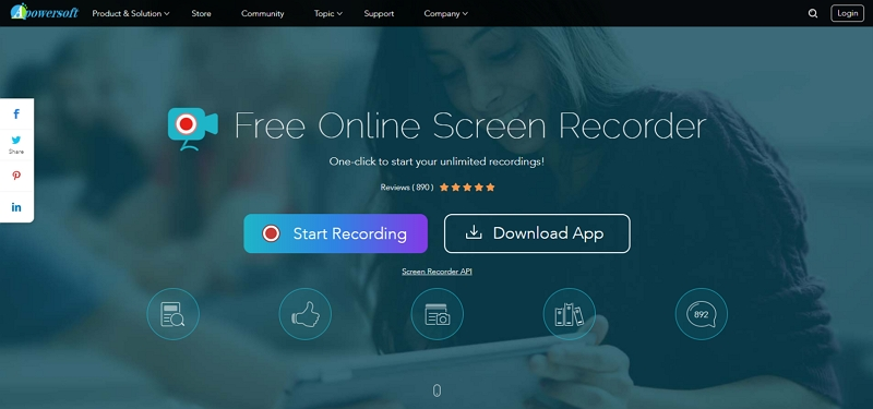Screen Recorder with Audio - Apowersoft