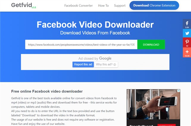 Share Facebook Video to WhatsApp