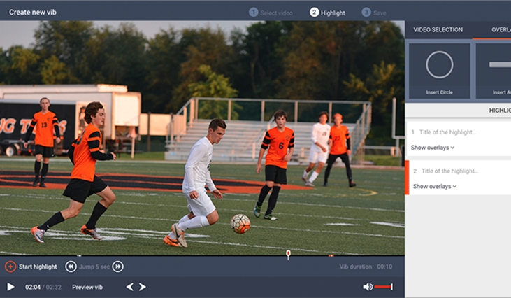 Sports Highlight Video Maker - ACA