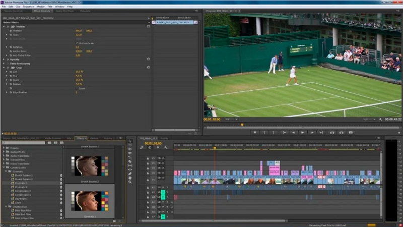 Sports Highlight Video Maker - Adobe Premiere