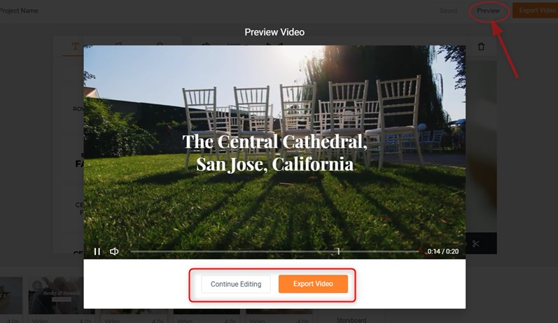 Make a Video Square: Preview