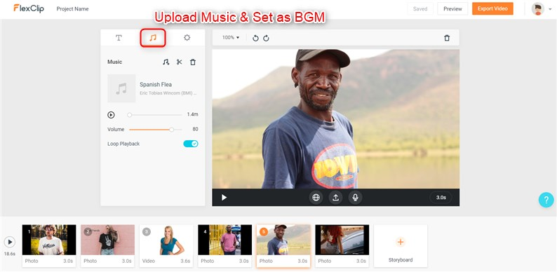 How to Make a T-Shirt Video - Upload Music