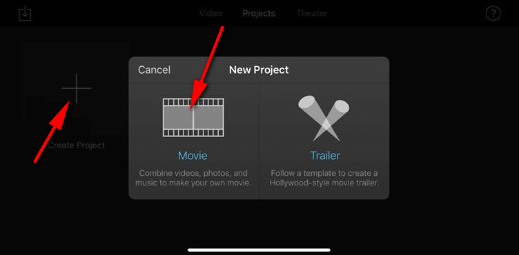 iMovie: Import Your Video