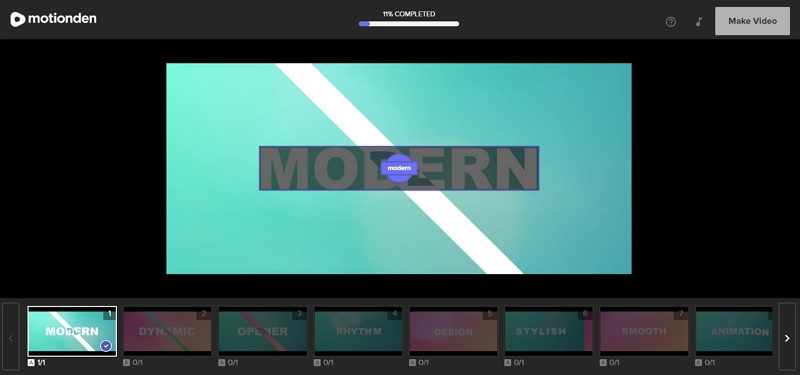 Top Video Ad Maker without Watermark - Motionden