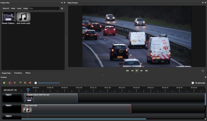 Best Video Editor for Mac - Openshot
