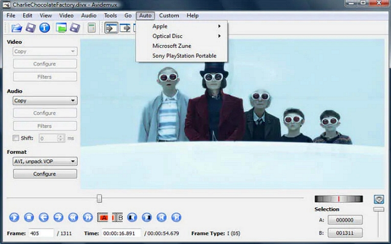 Best Video Editor for Windows - Avidemux