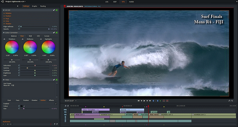 Best Video Editor for Windows - Lightworks