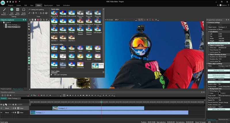 Best Video Editor for Windows - VSDC