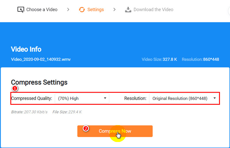How to Change Video Size Format: Step 2