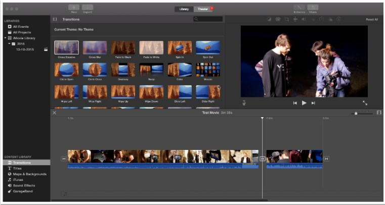 Top 5 Vlog Editor for Vloggers - iMovie