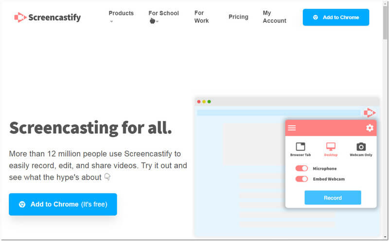 Screencastify Online Problem Steps Recorder.