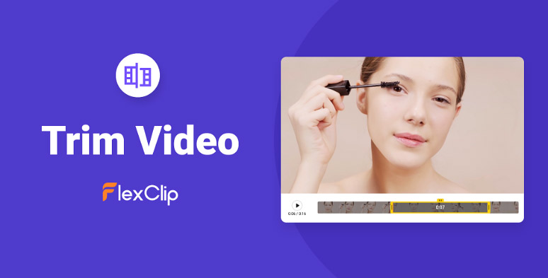 Easy-to-use FlexClip YouTube clipper